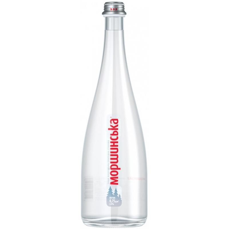 Вода минеральная Моршинская негаз. 0,75л. стекло (6бут. в уп.)